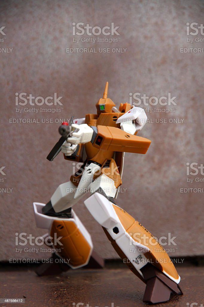Weapons Stance stock photo