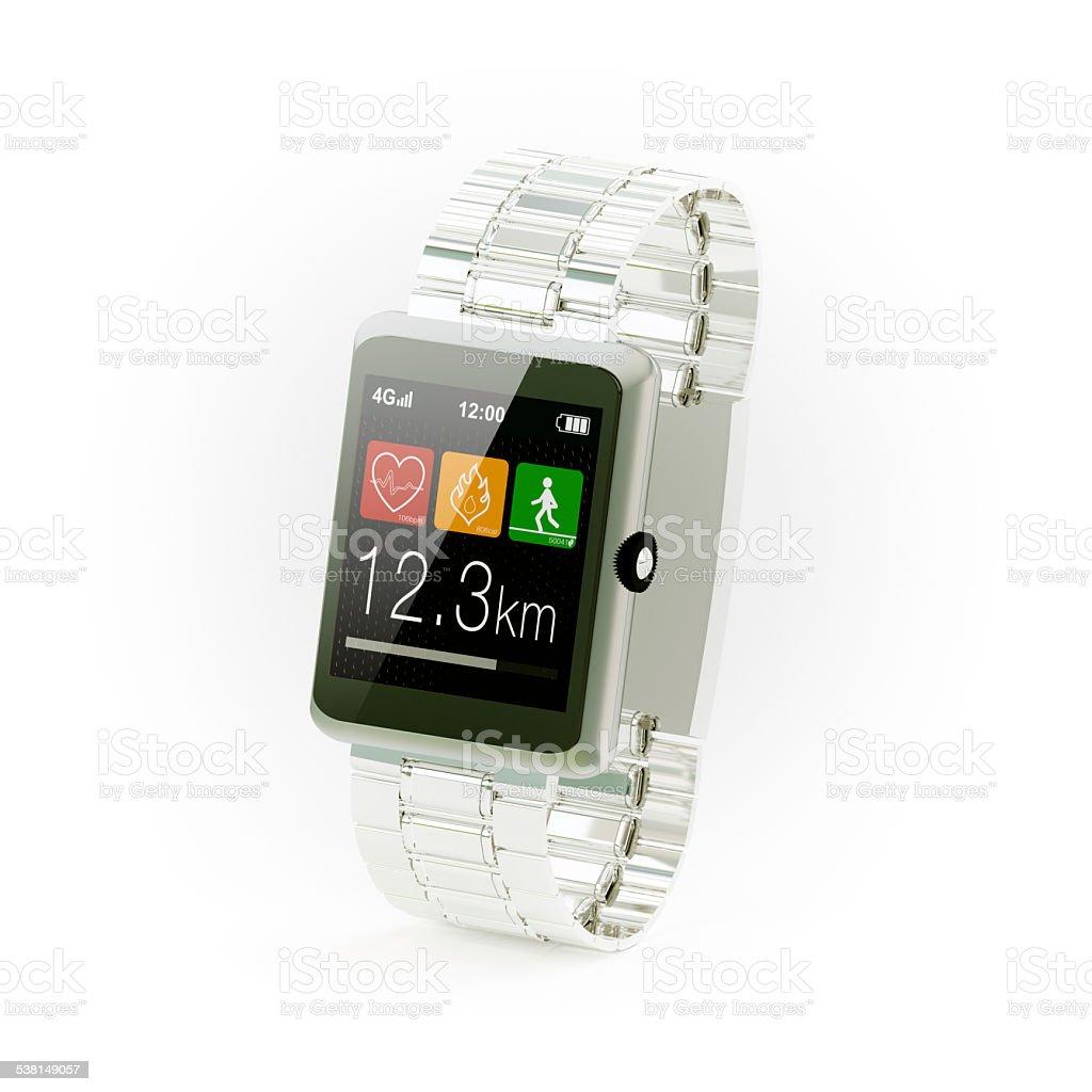 Wear health watch stock photo