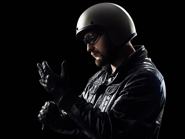 wearing gloves - sports glove stock photos and pictures