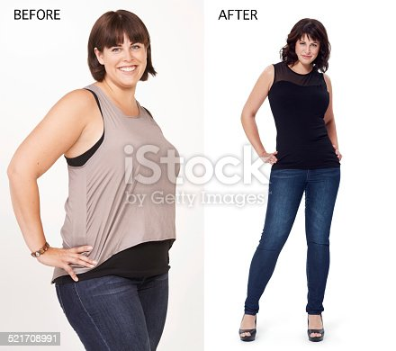 521792753istockphoto Wearing her clothes with attitude 521708991