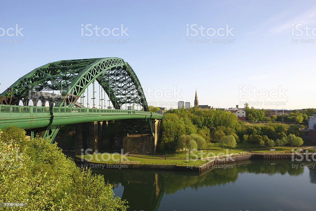 Wearmouth Bridge stock photo