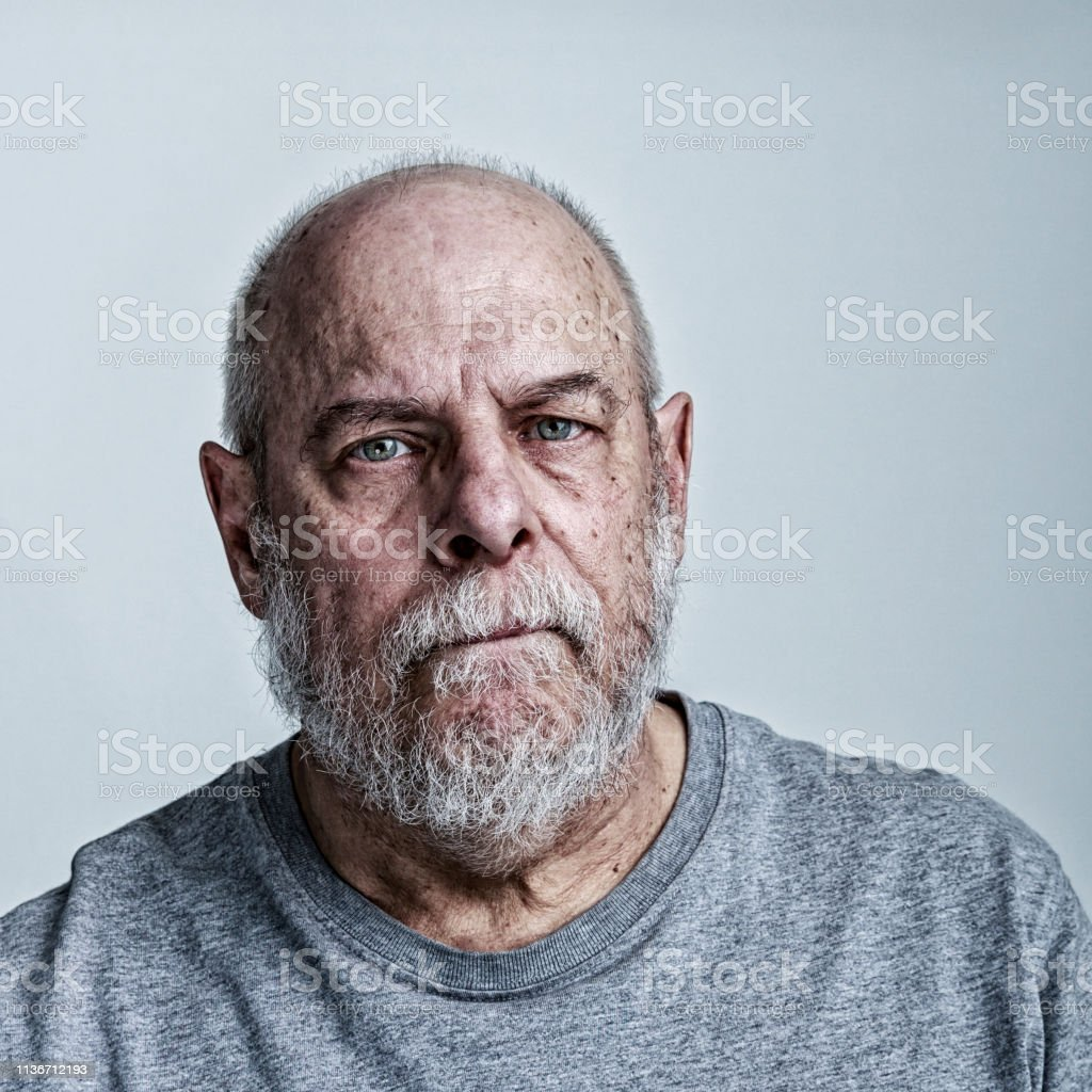 Weary Senior Man Cancer Chemotherapy Patient Stock Photo Download Image Now Istock