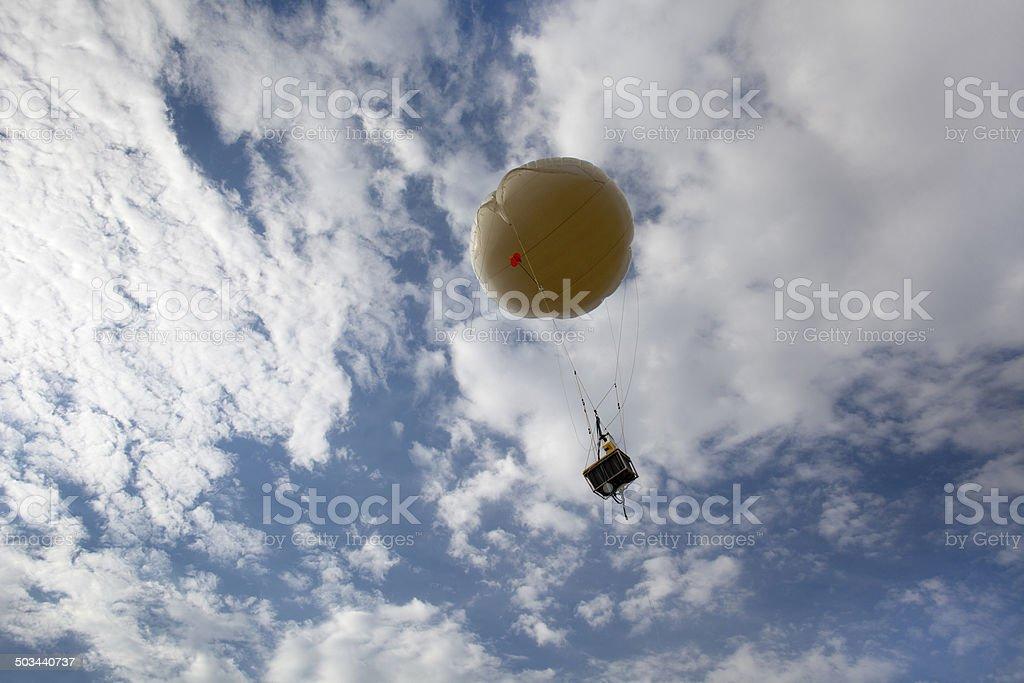 NASA weather balloon Golden Colorado royalty-free stock photo