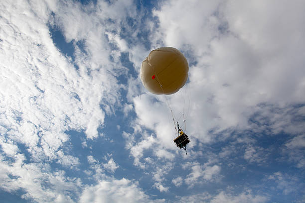 NASA weather balloon Golden Colorado stock photo