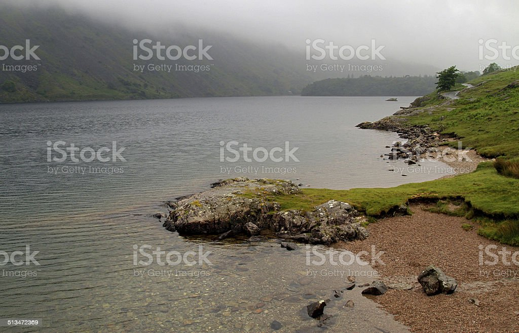 Weather Beaten Wast Water royalty-free stock photo