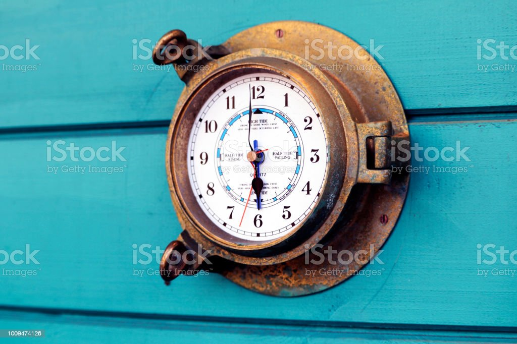 Weather dial stock photo