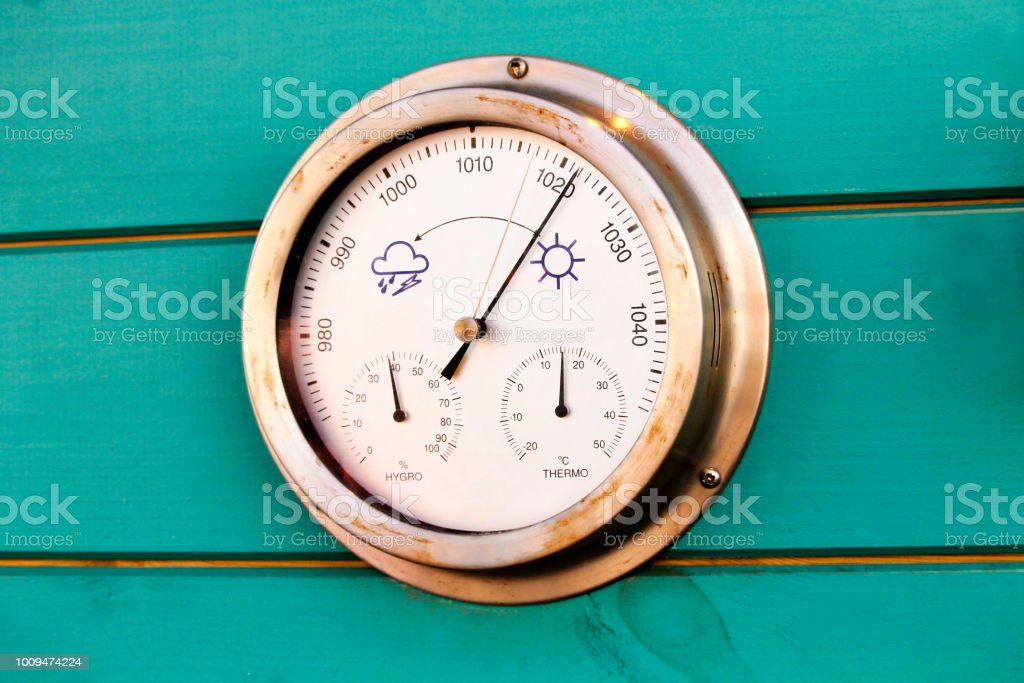 Weather dial - Royalty-free Atmosphere Stock Photo