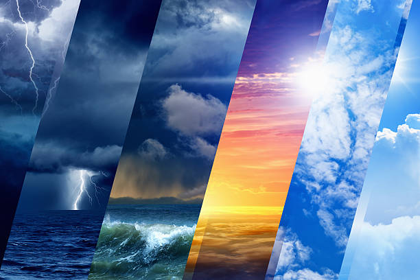 weather forecast - weather stock pictures, royalty-free photos & images