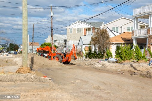 587773316 istock photo Weather: Hurricane Damage on a New Jersey street 171574690