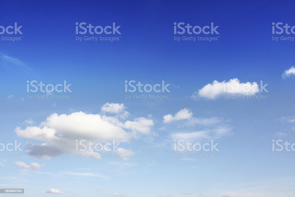weather in summer royalty-free stock photo