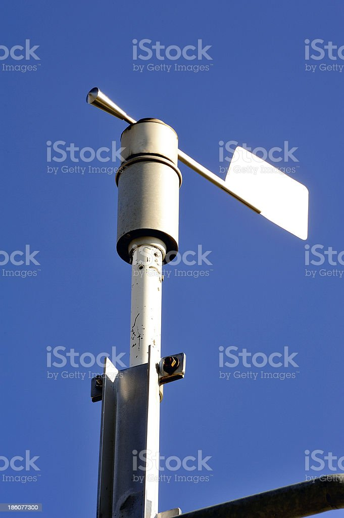 Weather installation of equipment royalty-free stock photo