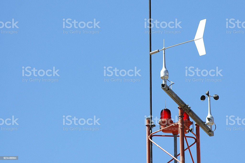 weather instruments royalty-free stock photo
