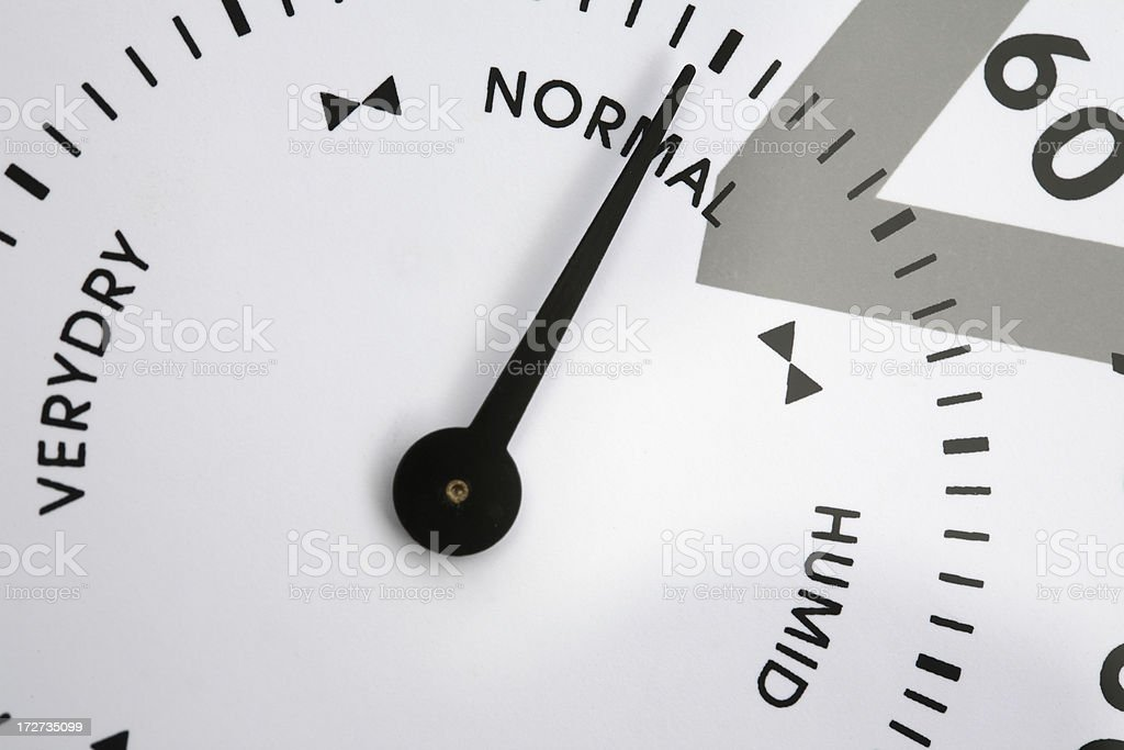 Weather normal royalty-free stock photo