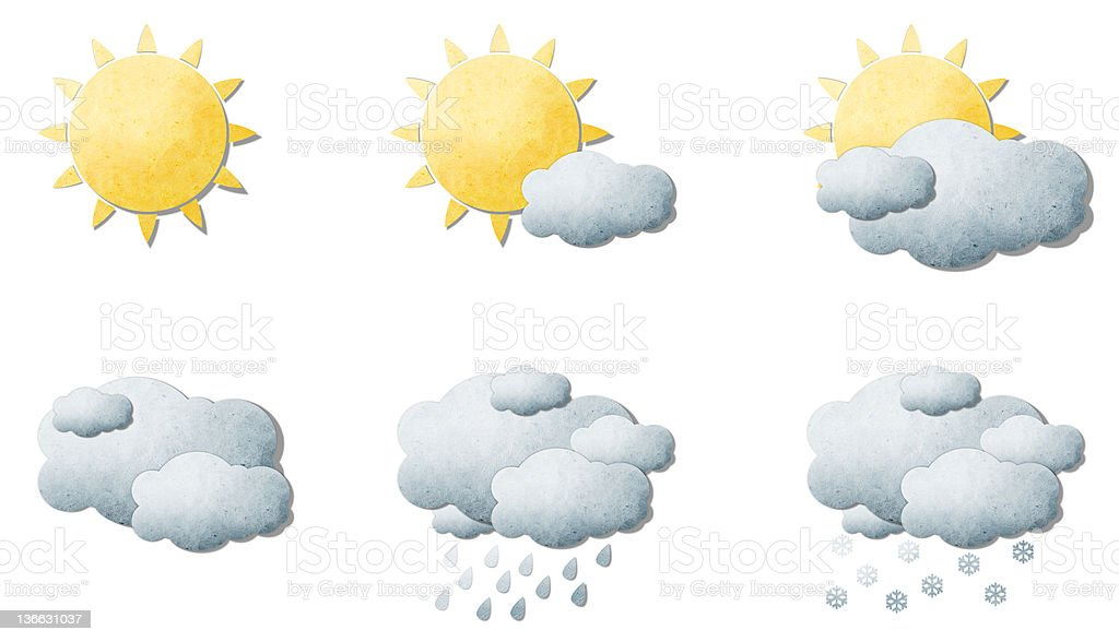 Weather royalty-free stock photo