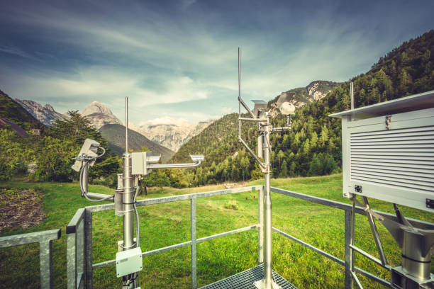 Weather station - foto stock