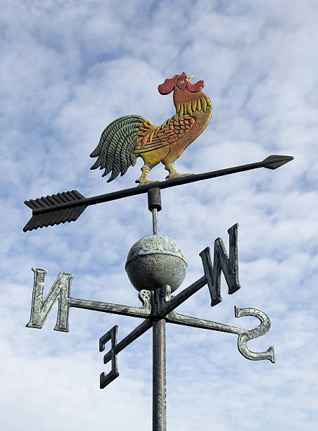 weather vane  weather vane stock pictures, royalty-free photos & images