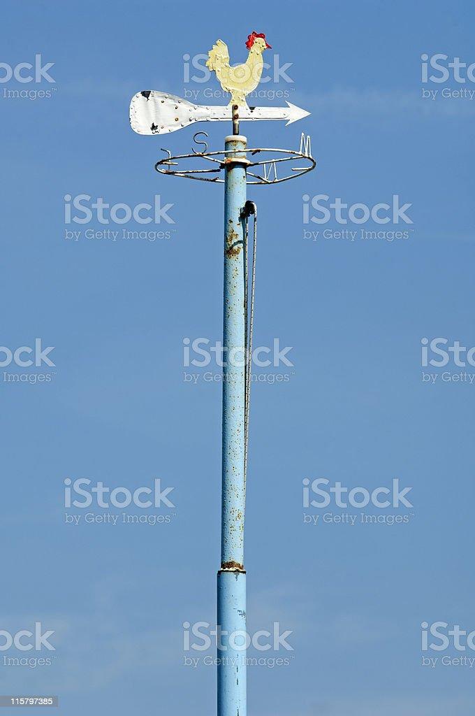 weathercock stock photo