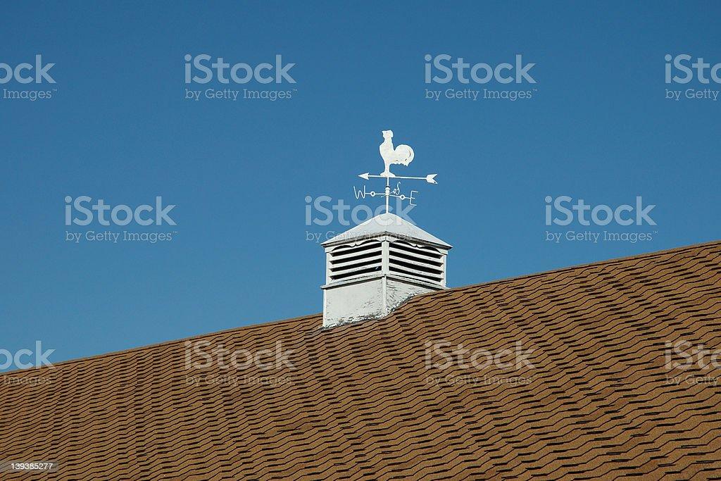 weathercock royalty-free stock photo