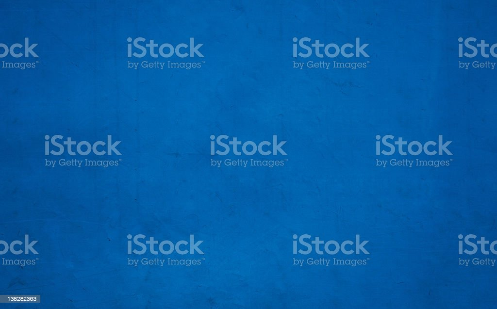 Weathered blue tarpaulin background texture stock photo