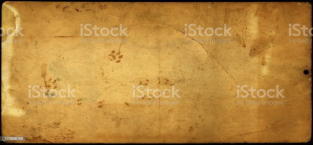 weathered card texture (high res) stock photo