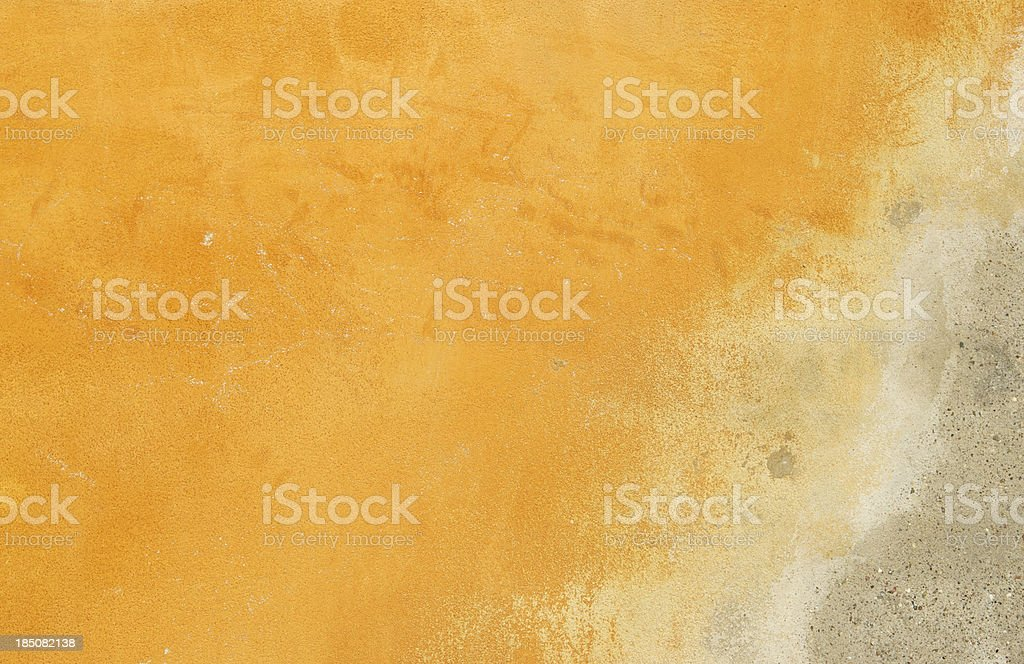 Weathered Concrete Wall royalty-free stock photo