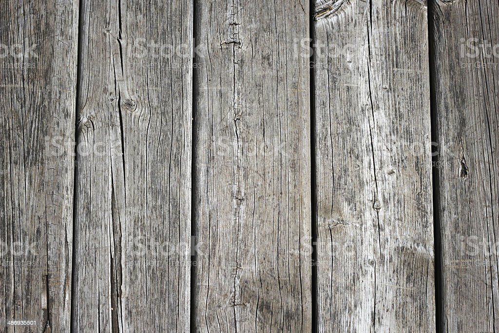 Weathered deck boards royalty-free stock photo
