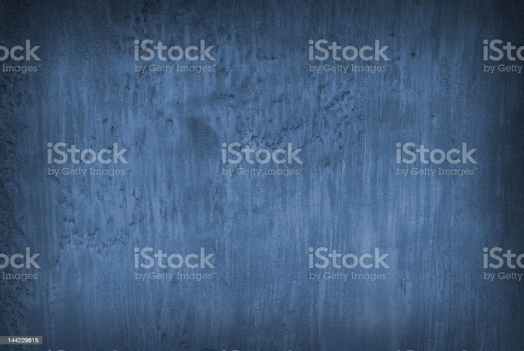 Weathered deep blue organic wall texture royalty-free stock photo
