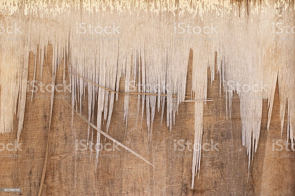 Weathered Door Top royalty-free stock photo