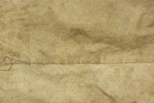 Weathered Faded Military Army  Hhaki Camouflage Background Textu stock photo