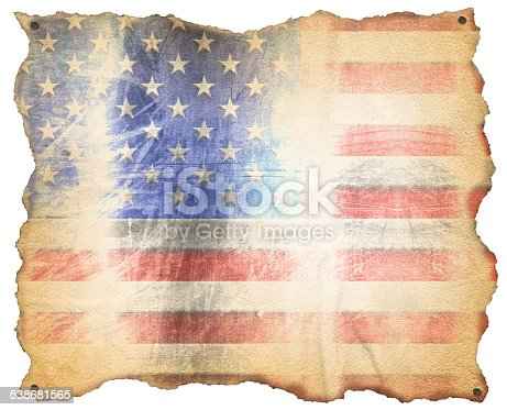 istock USA Weathered Flag 538681565