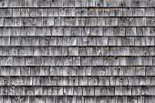 A background image of wooden shingles on an exterior wall.