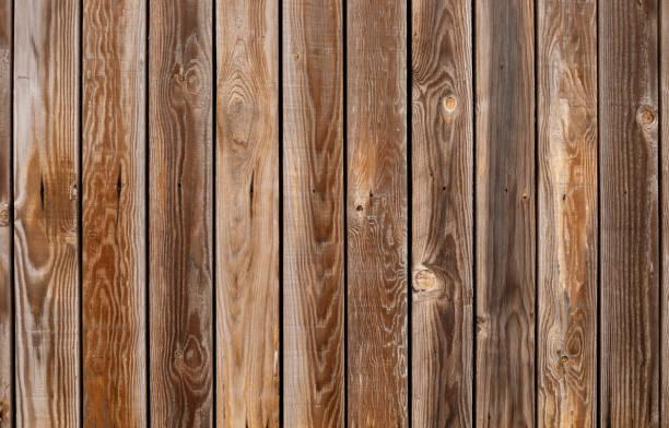 Weathered hardwood wall stock photo
