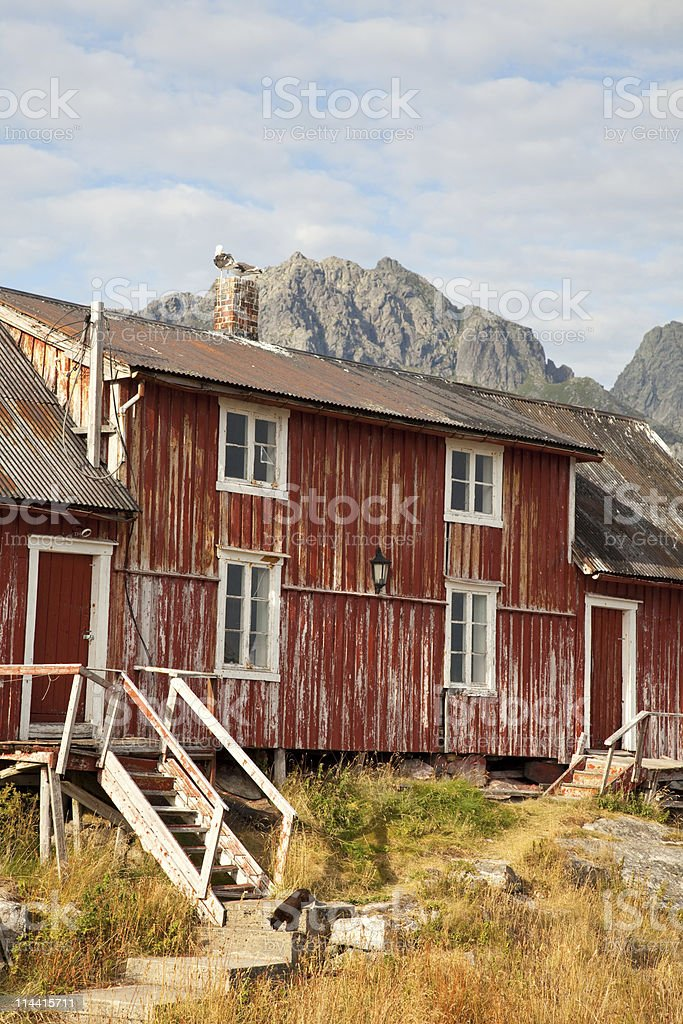 Weathered house royalty-free stock photo