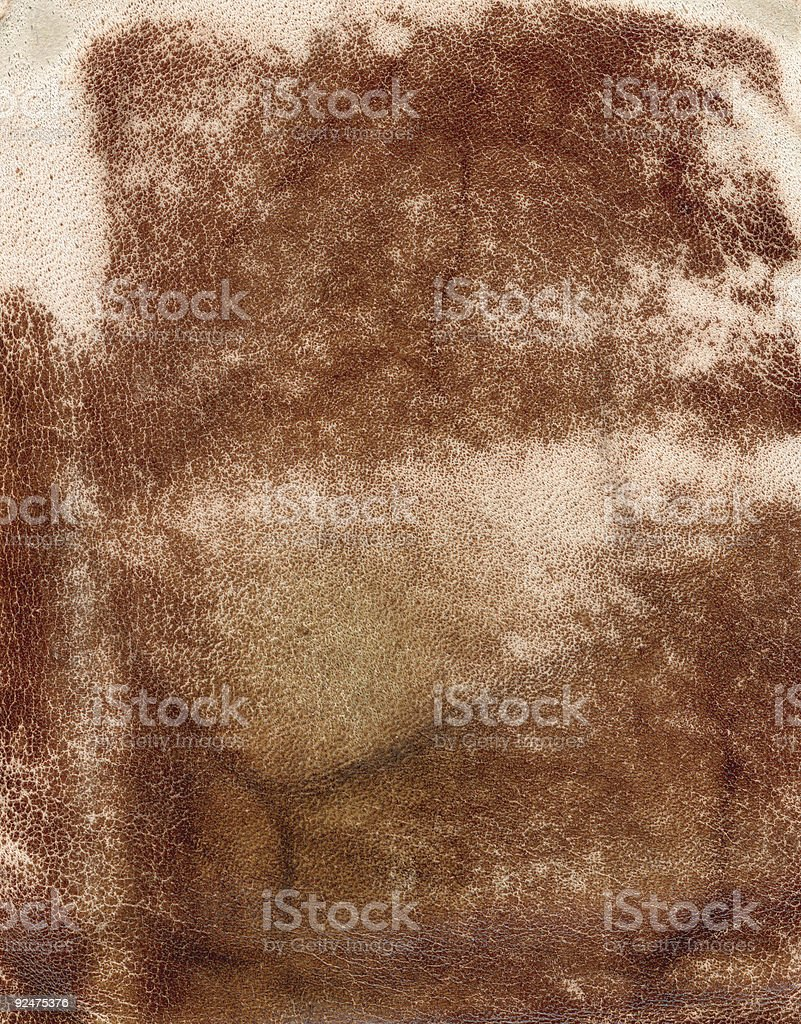 weathered leather royalty-free stock photo