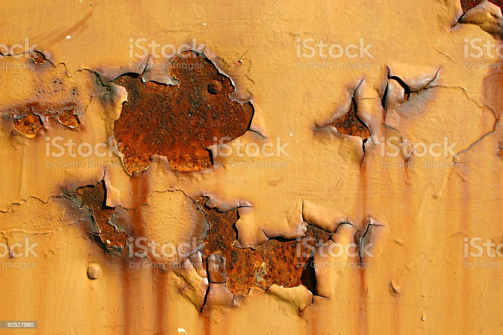 Weathered Metal  01 royalty-free stock photo
