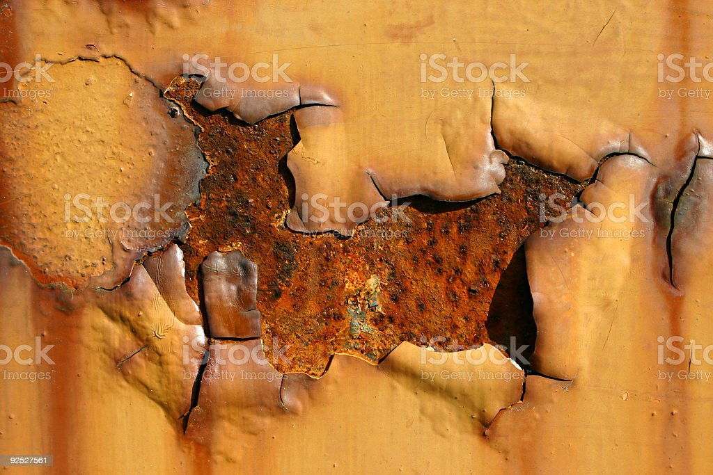 Weathered Metal  02 royalty-free stock photo