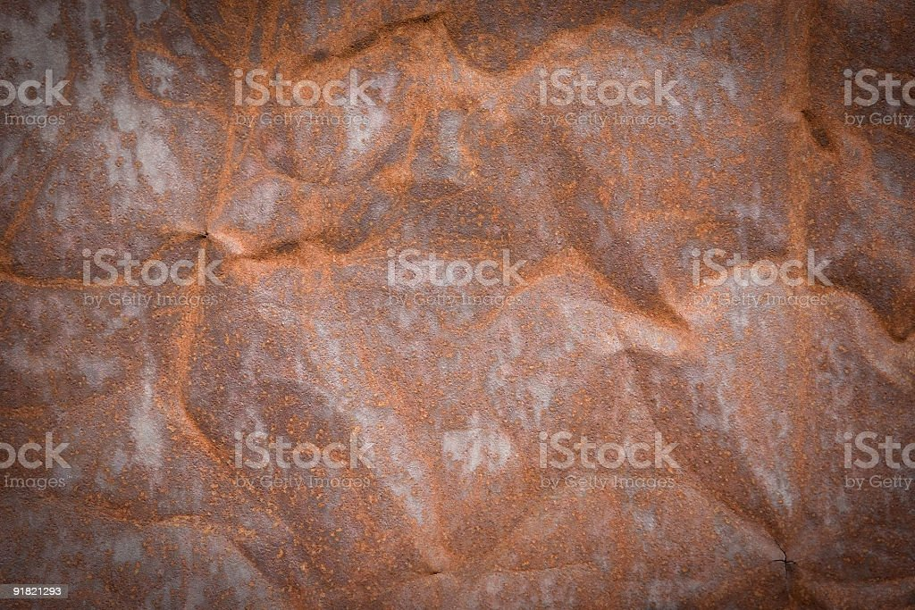 Weathered metal backgrounds royalty-free stock photo