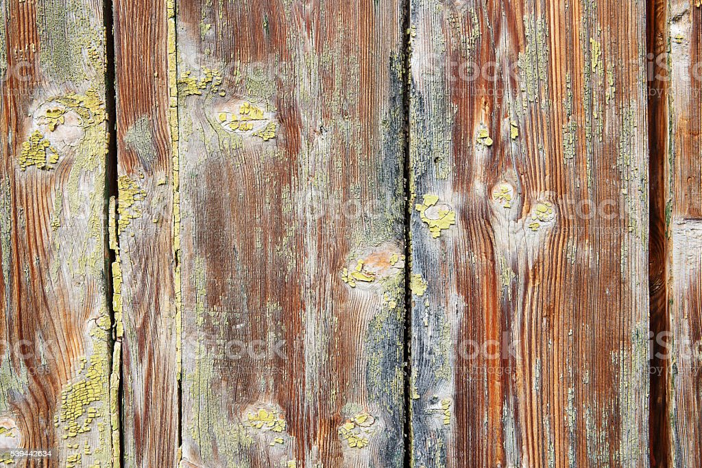 Weathered old wooden textured background stock photo