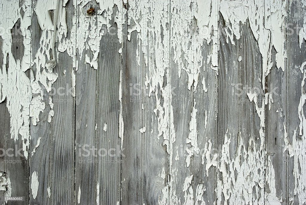 Weathered Painted Wood royalty-free stock photo