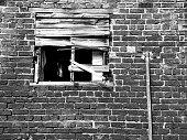 Old weathered window