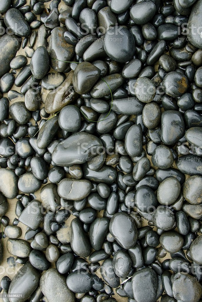 Weathered Rocks royalty-free stock photo