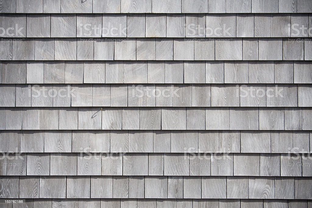 weathered shingle background stock photo