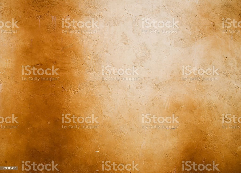Weathered Stucco Wall royalty-free stock photo