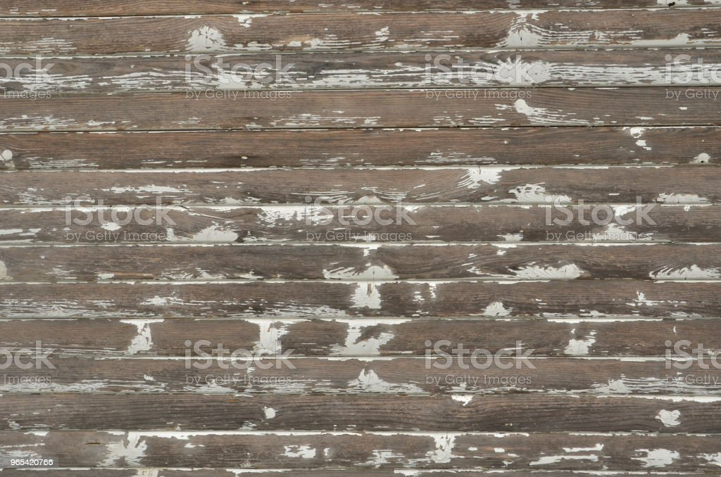 Weathered wood de peinture blanche - Photo de Abstrait libre de droits