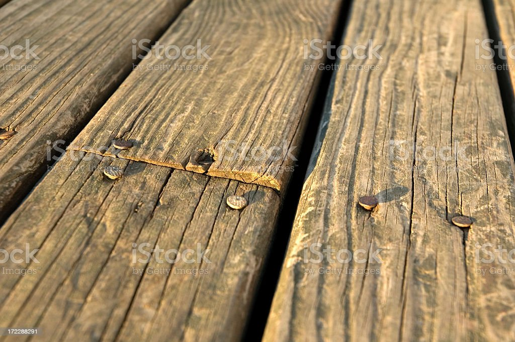 Weathered Wood 2 royalty-free stock photo