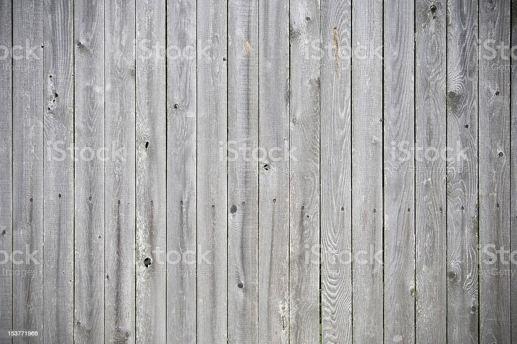 weathered wood fence stock photo