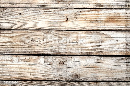 Weathered wooden board, background