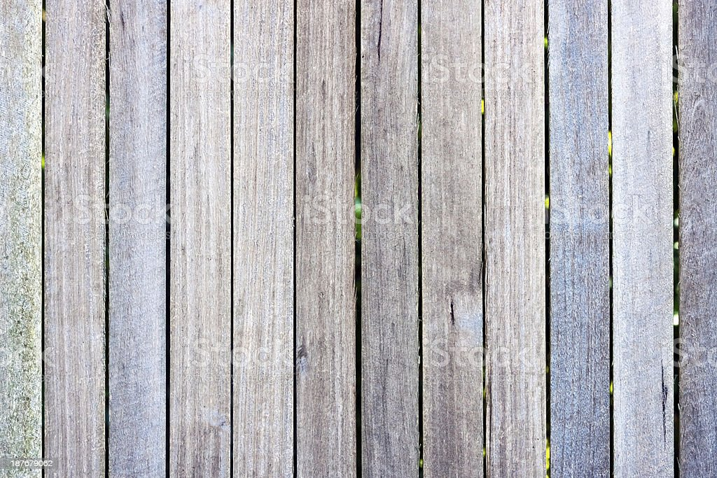 Weathered wooden fence background, copy space royalty-free stock photo