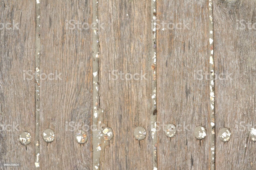 Weathered wooden floor, outdoor royalty-free stock photo