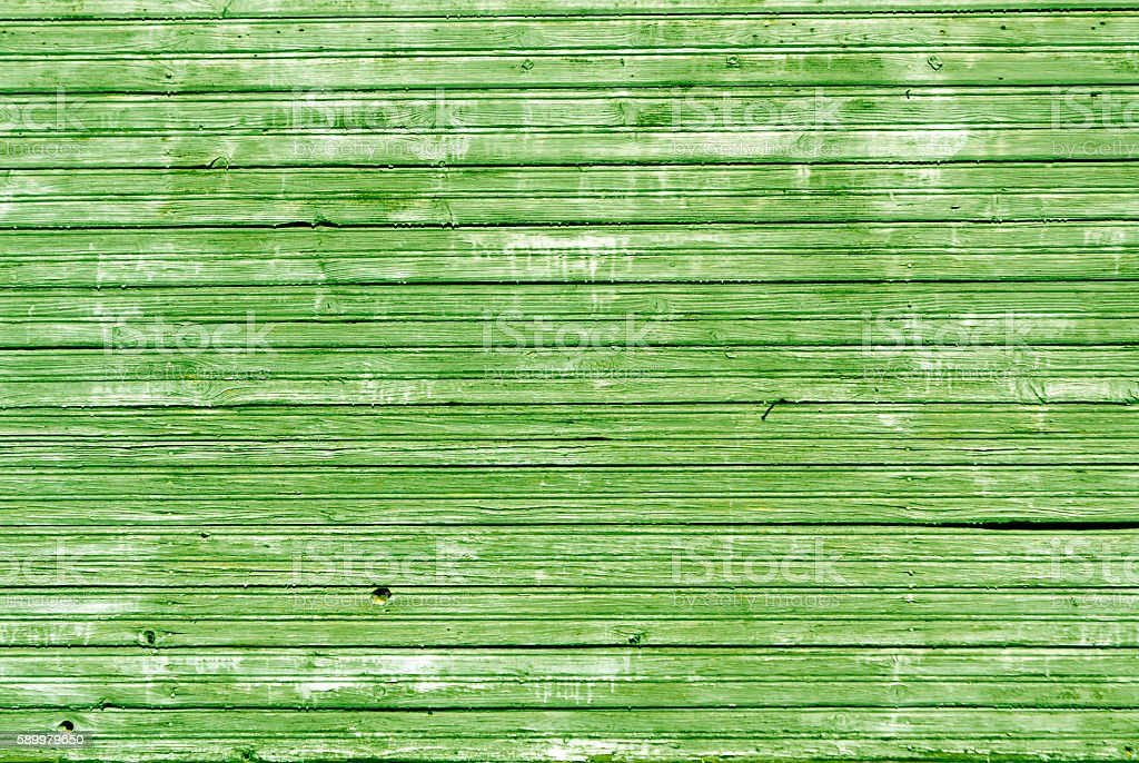 Weathered wooden house wall texture. stock photo
